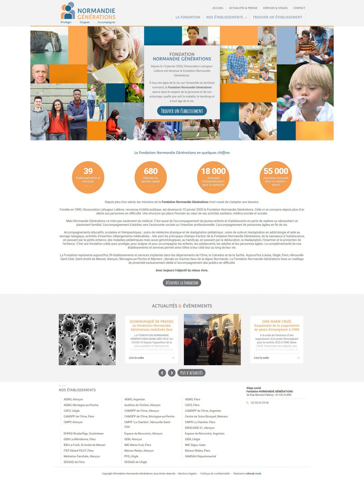 Fondation Normandie Générations